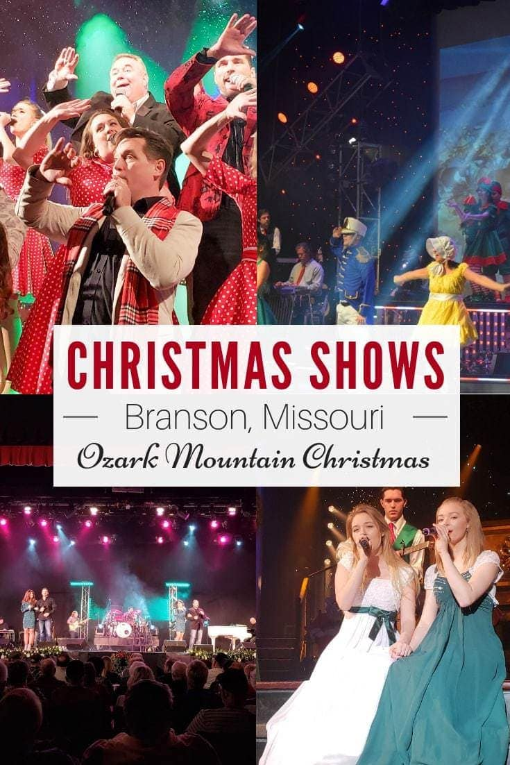 Entertainment in Branson is top-notch but the shows in Branson during the holidays is even more spectacular! Experience Branson's Ozark Mountain Christmas. #Branson #BloggingBranson #OzarkMountainChristmas