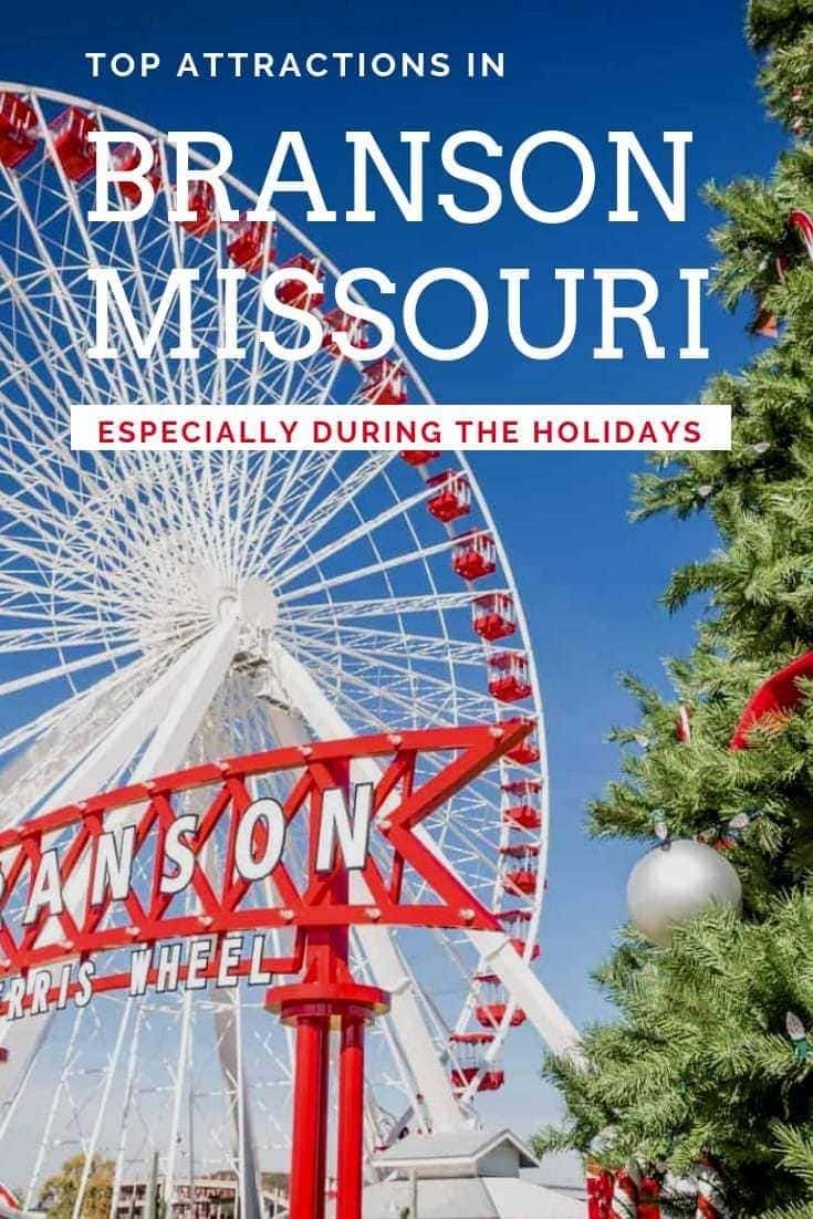 These are just two of the Top Attractions in Branson during Christmas, but trust that your visit to Branson will uncover so many more!