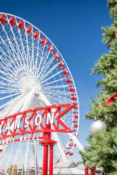 BRANSON FERRIS WHEEL AT CHRISTMAS