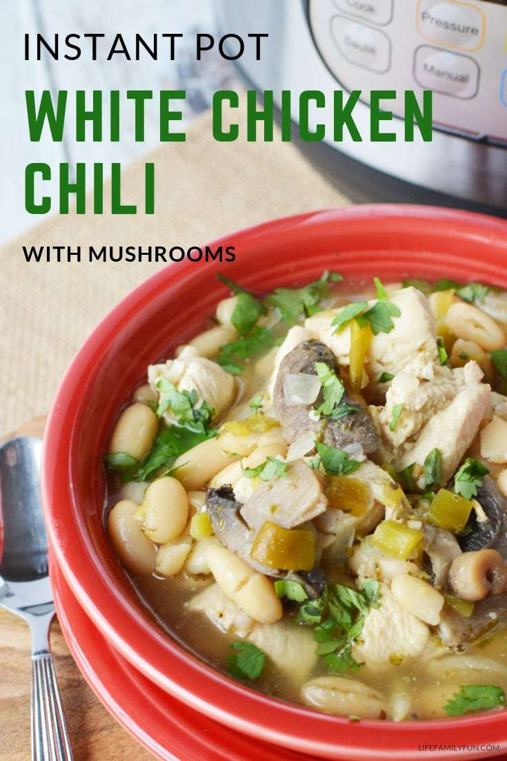 Everyone has a love for a great chili recipe. This Instant Pot White Chicken Chili recipe is about to truly take your taste buds to a whole other level!