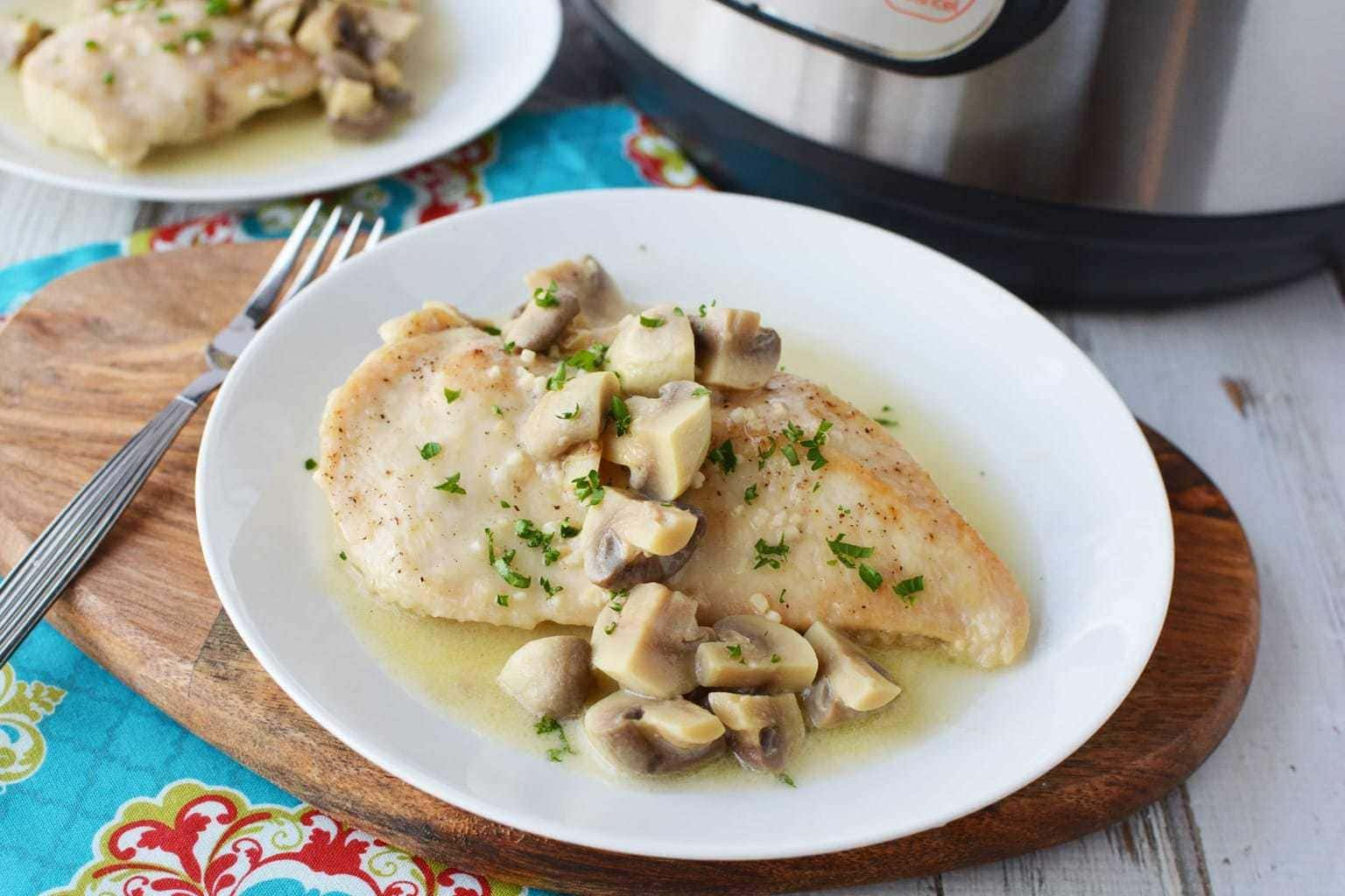 Instant Pot Chicken With Marsala Wine – Truly a Delicious and Flavorful Dish