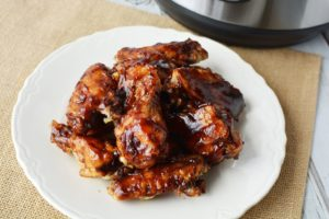 Instant Pot BBQ Chicken Wings – Great Appetizer and Party Food