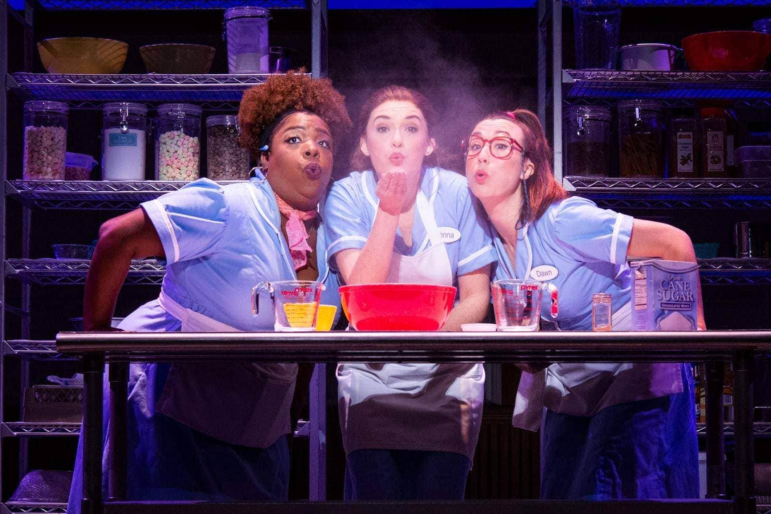 Waitress The Musical Performing at The Fox Theatre in Atlanta