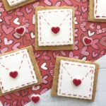 These Love Letter Cookies made with fondant are the perfect way to give someone a surprisingly sweet and edible Valentine's Day Card!