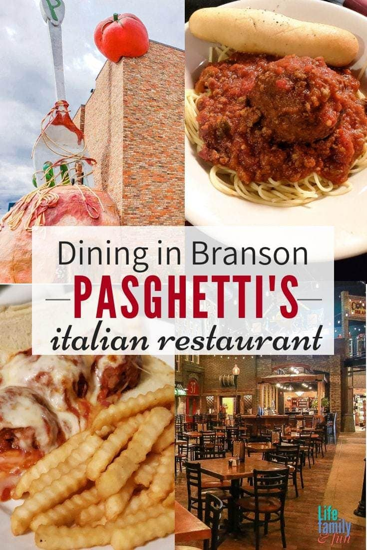 No trip to Branson would be complete without a plate of some delicious Italian food at Pasghetti's Italian Restaurant, affordable family dining in Branson.