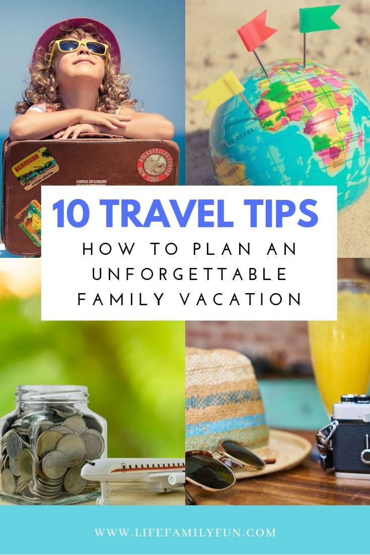 If you've been on the hunt for some top trip planning tips, you don't need to look any further than these traveling pointers! These tips will help you plan an unforgettable family vacation. #familytravel #traveltips