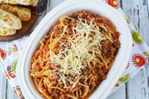 Easy Instant Pot Spaghetti With Italian Sausage – Dinner In 10 Minutes!