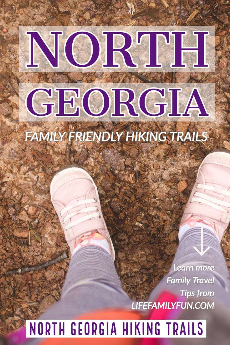 Spring is here and what better way to stretch and grow than getting outdoors with your family, like go hiking in North Georgia? #NorthGeorgia #Hiking
