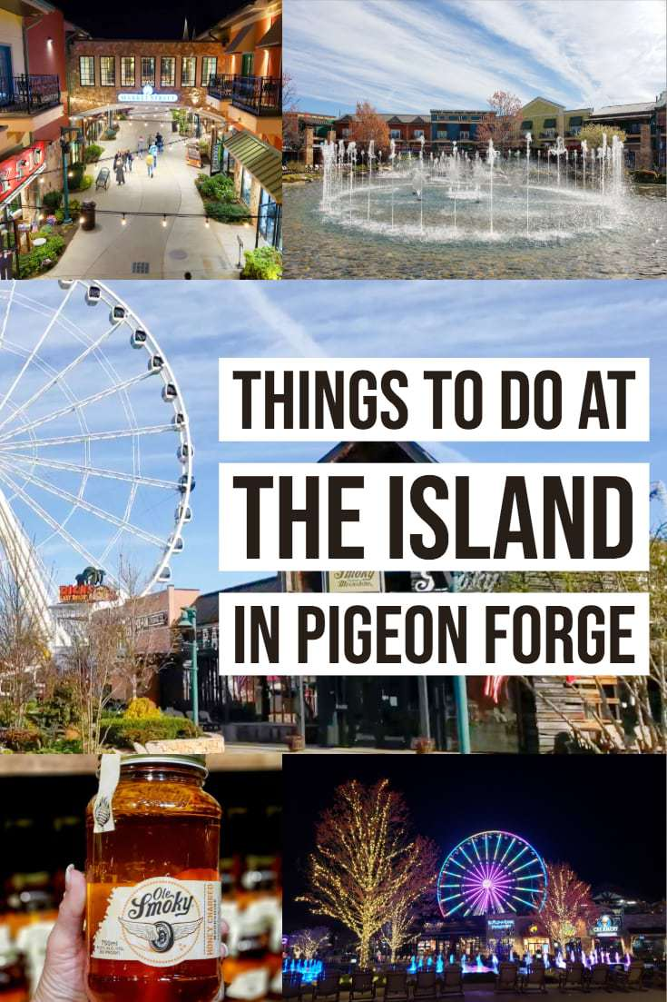 No trip or visit to the Smokies would be complete without a stop at The Island in Pigeon Forge. This is one place that you don't want to miss out on! #MyPigeonForge #ad