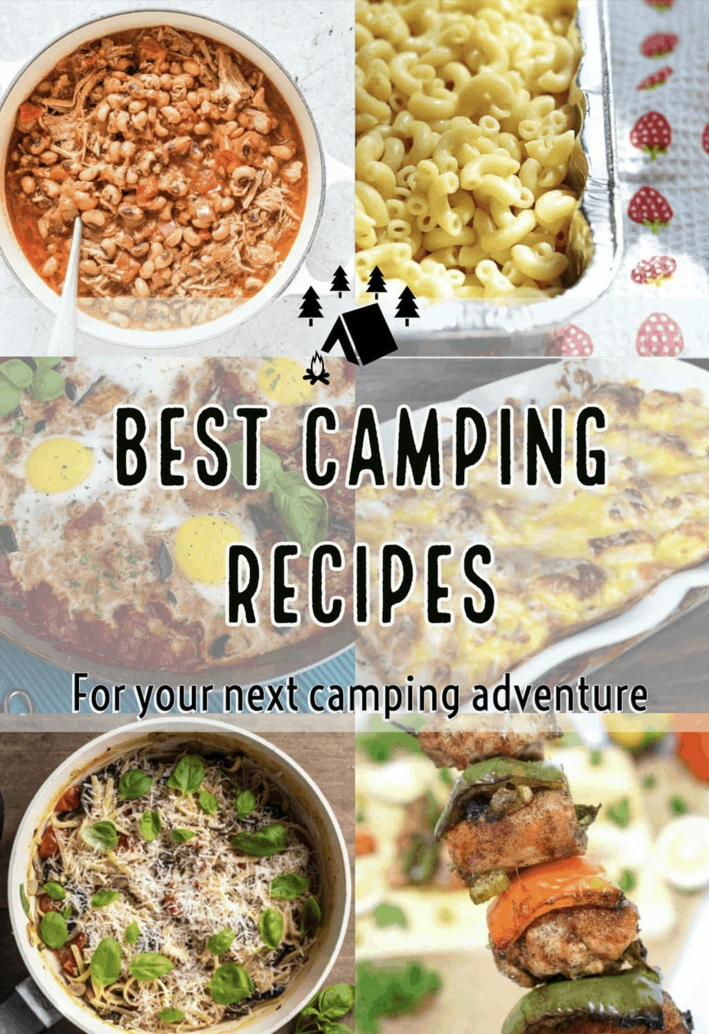 Camping Recipes, Campfire food, Camping food ideas