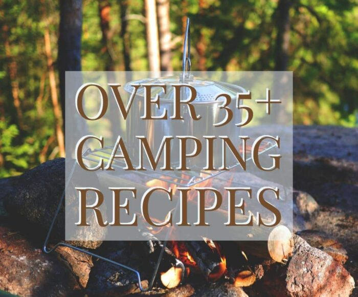 When it comes to finding the best camping recipes, there are a ton of great camping recipes to consider. No matter if you're looking for desserts or main meals, these options should give you all you need to make your next camping trip full of delicious food! #campingrecipes #campfirefood