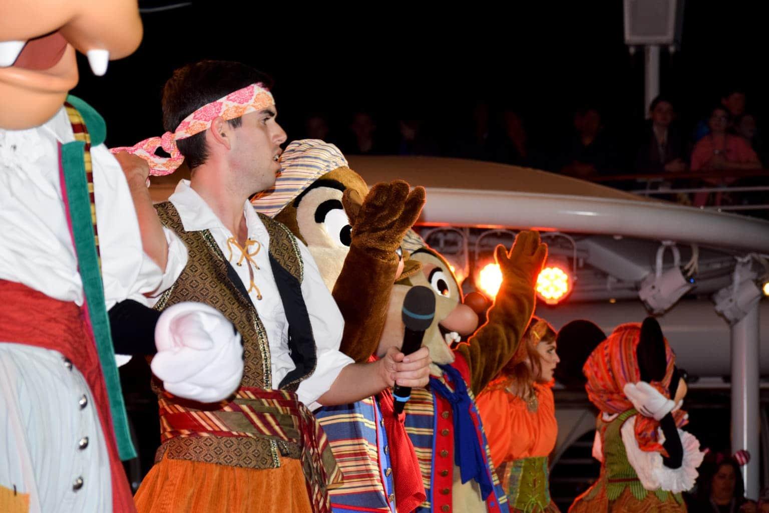 disney cruise pirate night, disney dream
