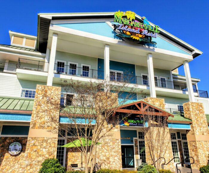 Margaritaville Hotel in Pigeon Forge