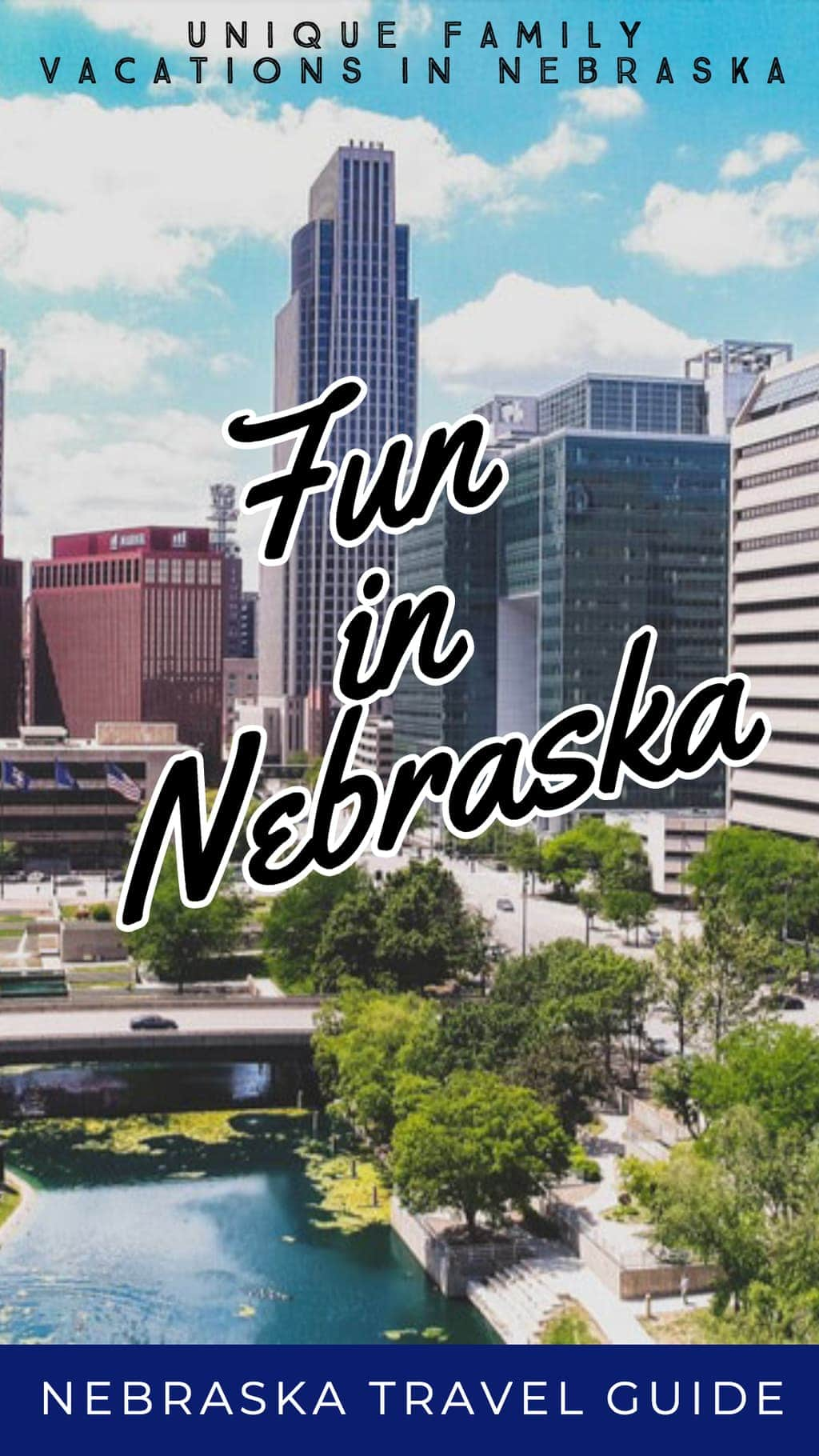 If your family loves nature, adventure or metropolitan cities, a visit to Nebraska may be for you. Here's a list of some of the top family-friendly things to do in Nebraska. #Nebraska #FamilyTravel