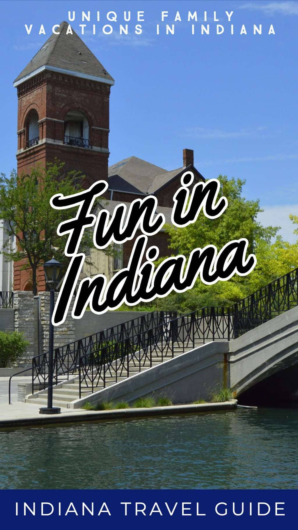 Whether you are coming to Indiana to visit family or just for fun you will find lots of fun attractions in Indiana for the whole family.