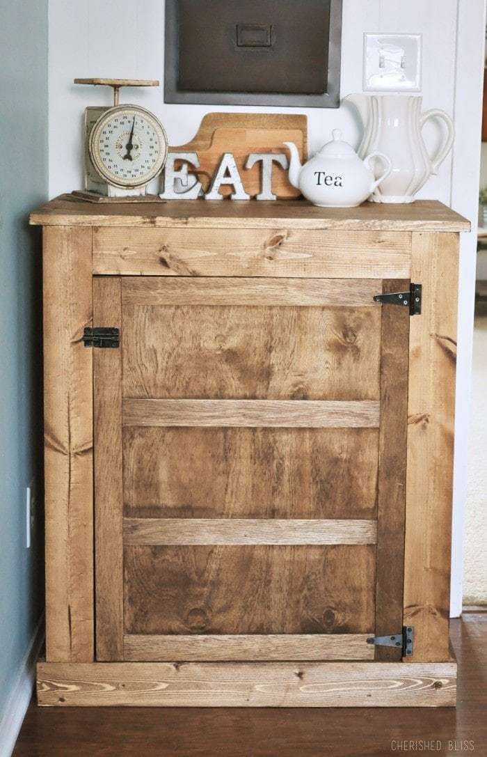 DIY Farmhouse Buffet by Cherished Bliss, DIY Kitchen Projects