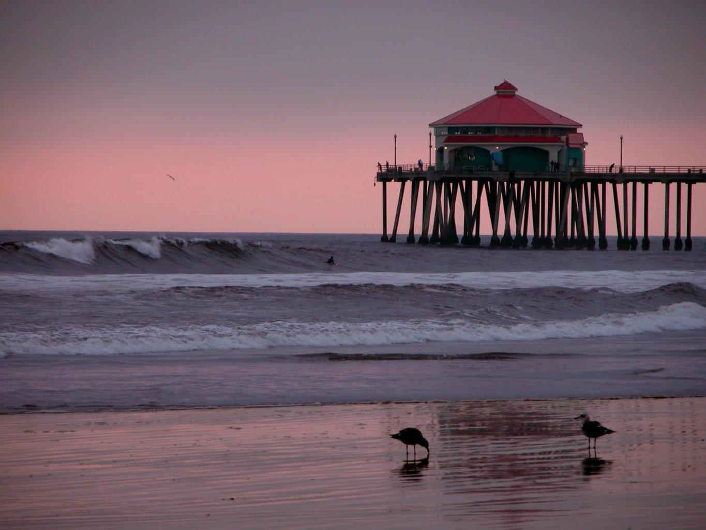 Huntington Beach Pier, Califoria