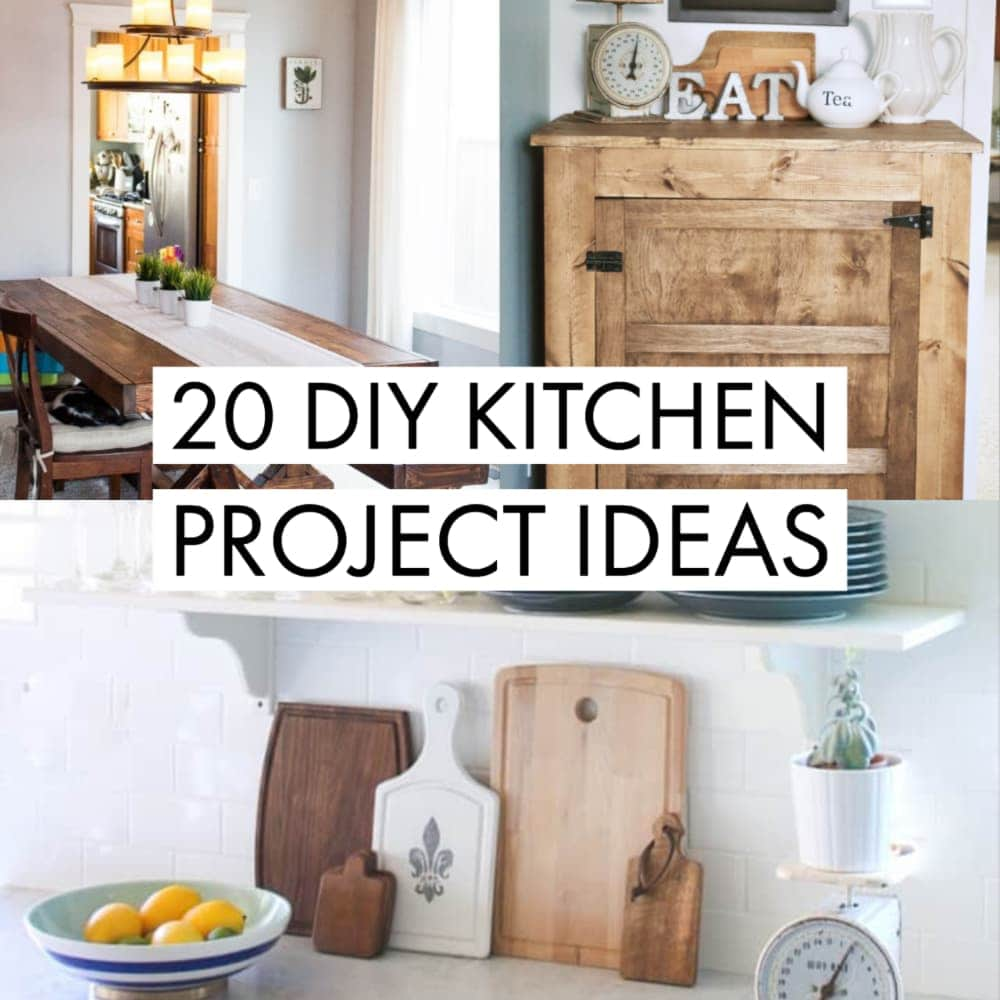 20 Diy Kitchen Projects Ideas For That Budget Friendly Kitchen Makeover