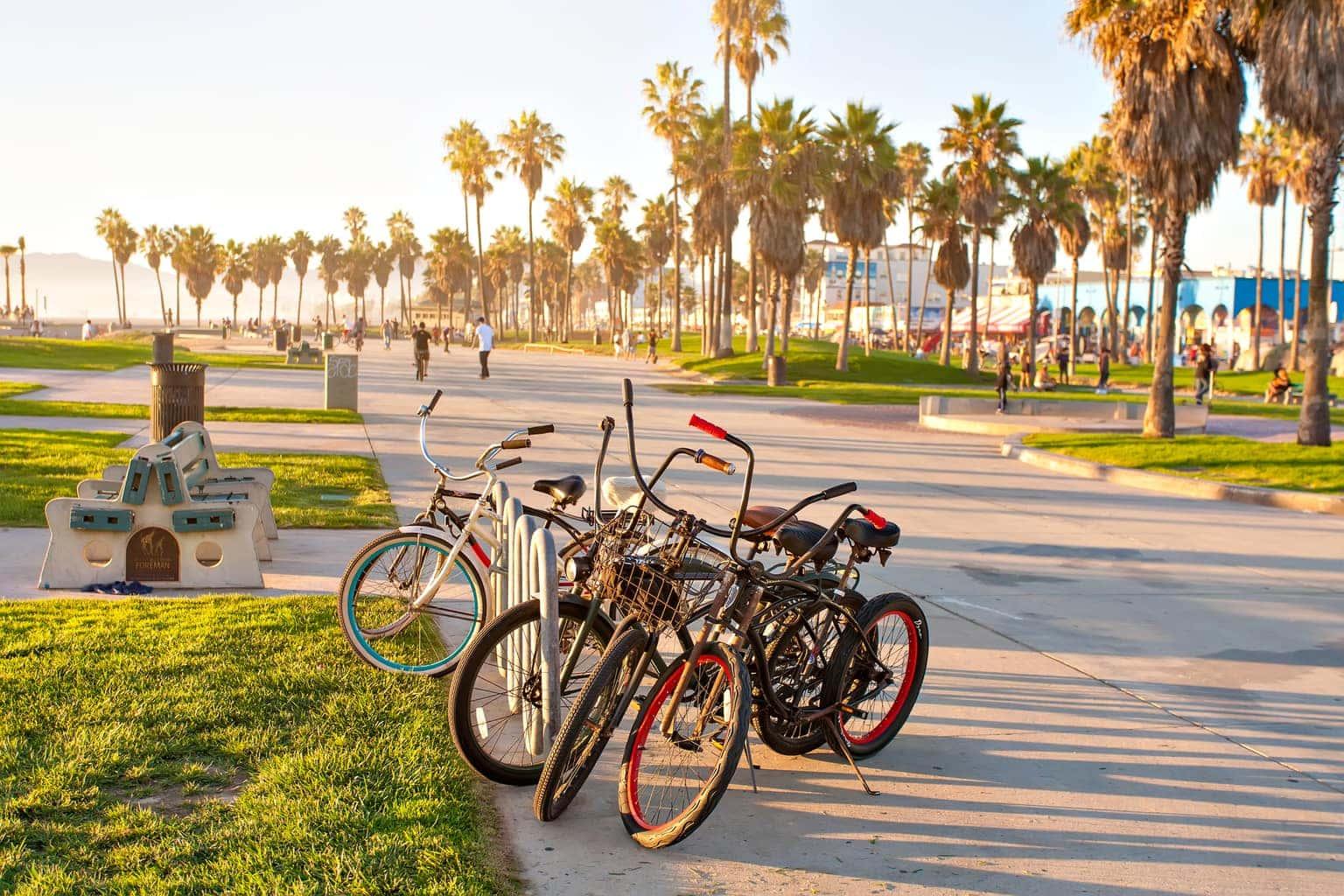 Venice Beach in Los Angeles California