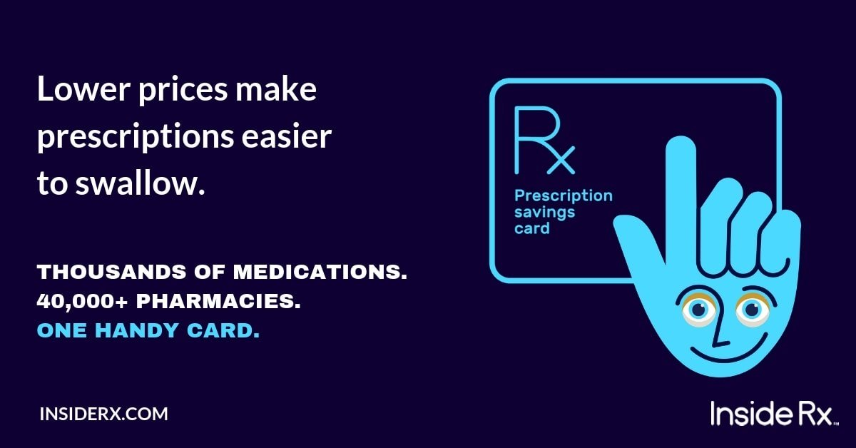 saving money on medications with a prescription savings card