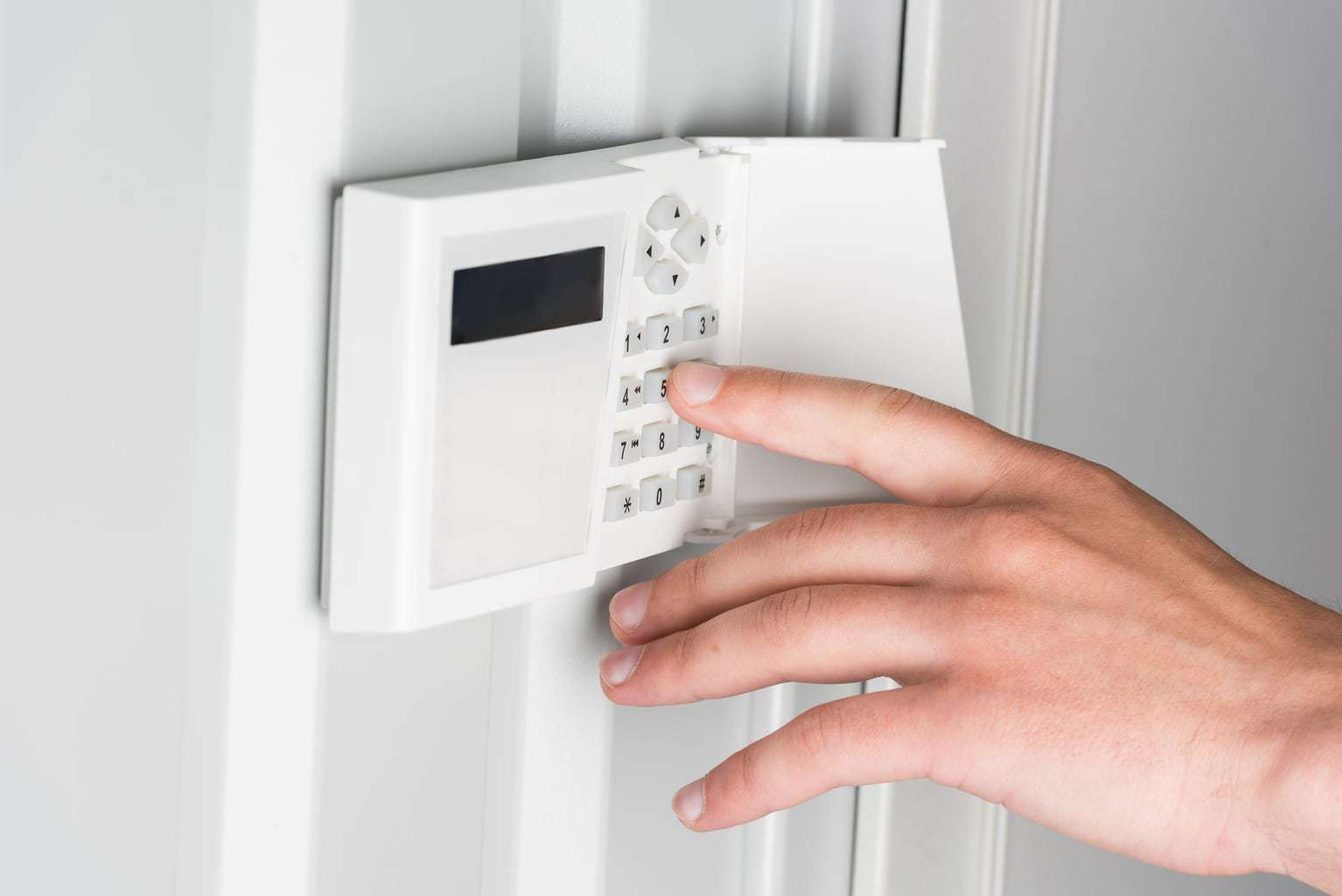 installing security system for home