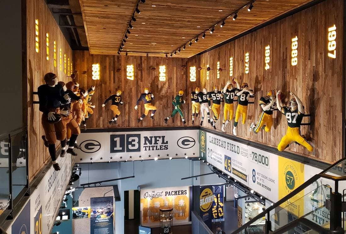 Green Bay packers hall of fame is a must for any football enthusiast