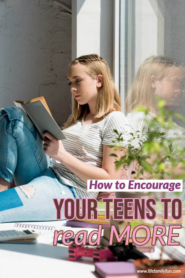 encourage your teen to read more