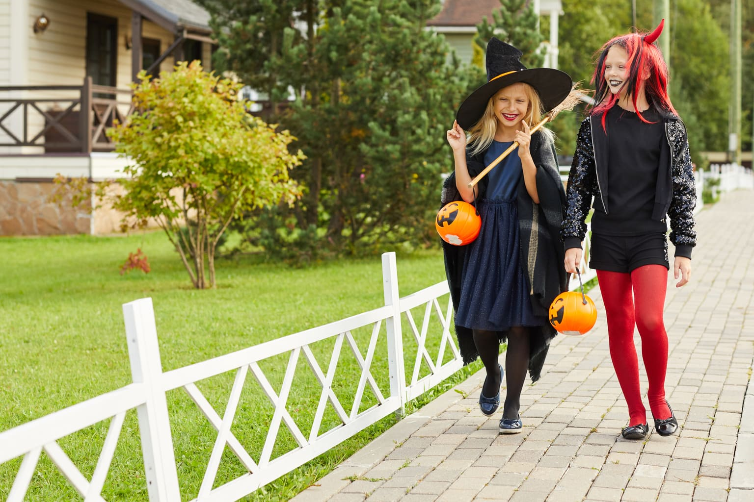 teens are trick or treating - how to keep them safe