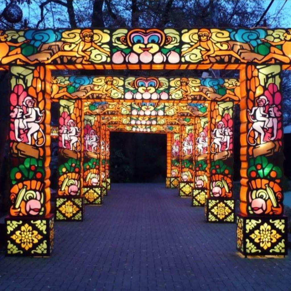 2019 Atlanta Chinese Lantern Festival at Centennial Olympic Park