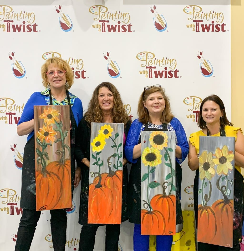 How To Plan A Girls Night Out in Sandy Springs: Cheese, Wine, Food, and Painting!