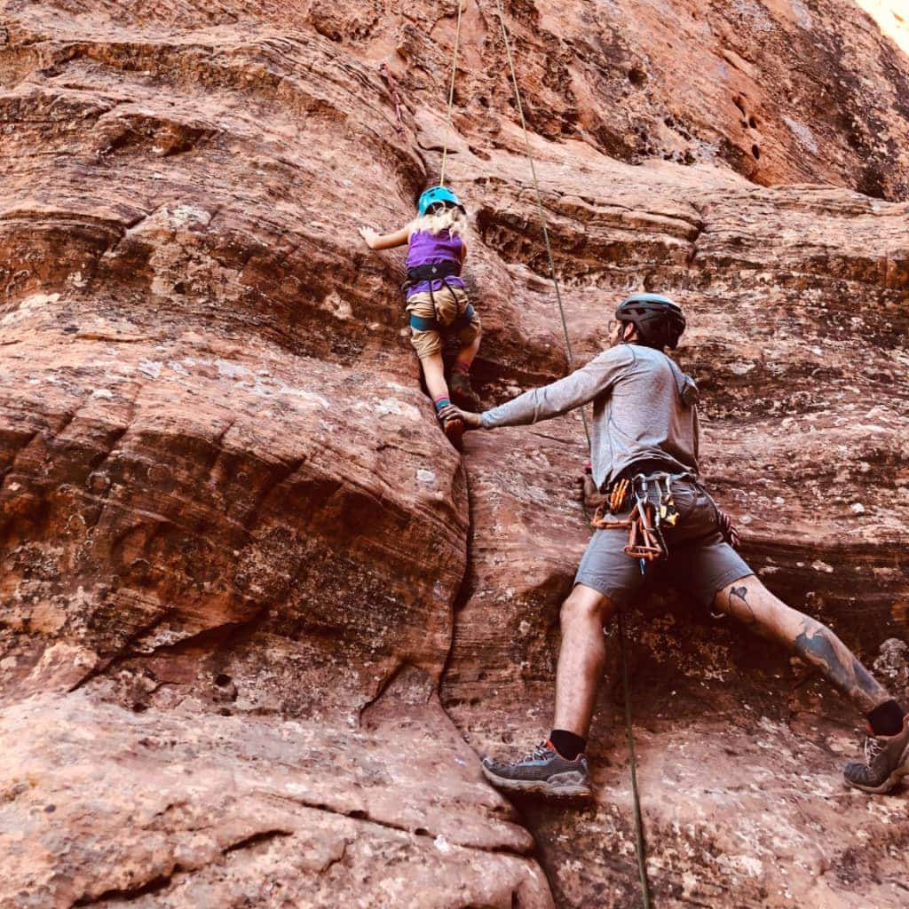 5 Tips When Rock Climbing With Kids – Rock Odysseys Tour in Utah