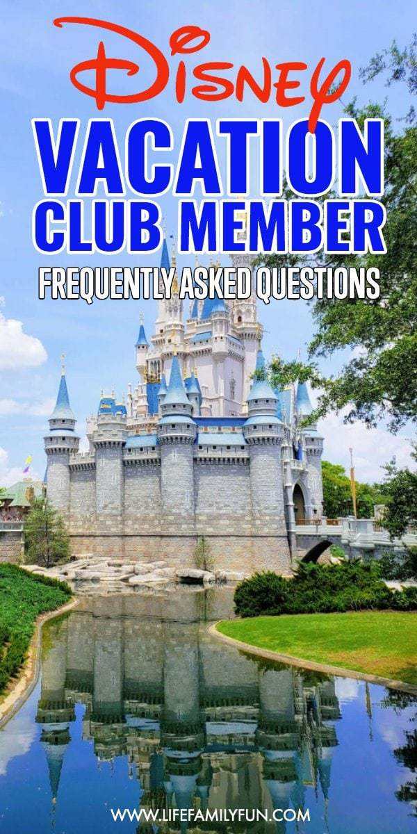 Disney Vacation Club Member Frequently Asked Questions