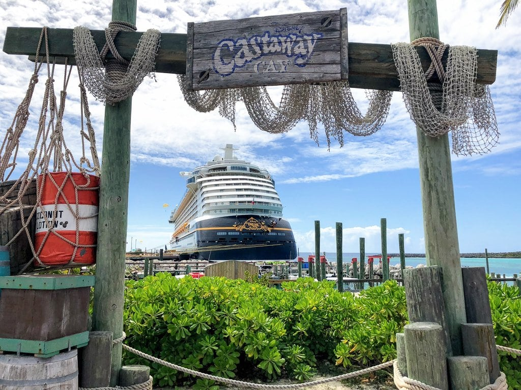 Disney's Castaway Cay, Disney Dream Cruise Ship