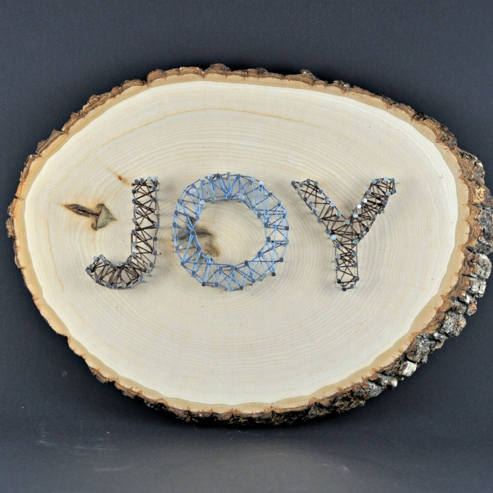 """Joy"" String Art"