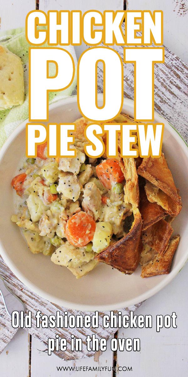 hearty chicken pot pie stew