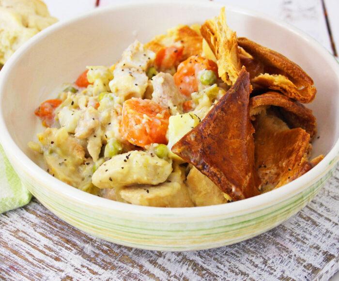 chicken pot pie stew