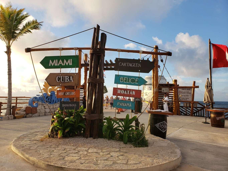 Costa Maya Port Cruise