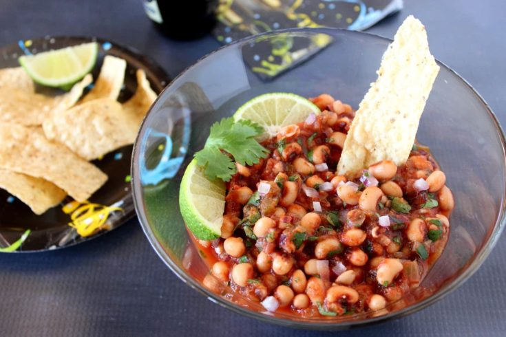 Black-Eyed Pea Salsa – Kudos Kitchen Style