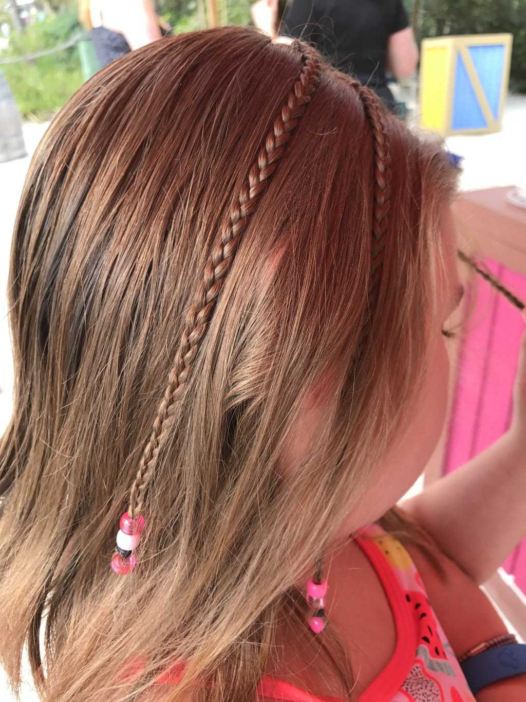 Hair Braid in Disney's Castaway Cay