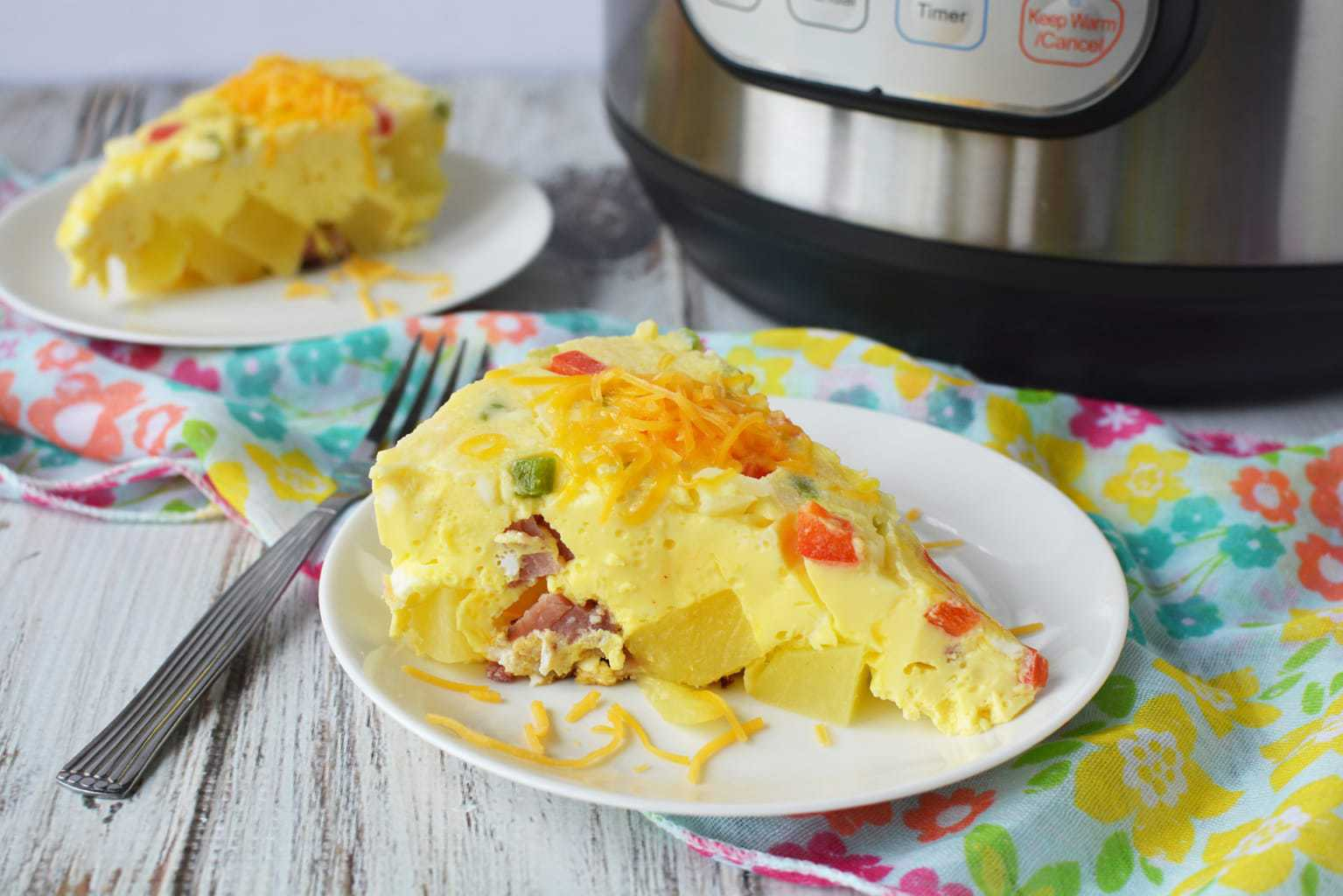 Breakfast Casserole, Instant Pot Breakfast Casserole