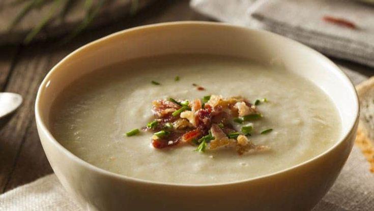 Instant Pot Creamy Chicken Leek Soup Recipe
