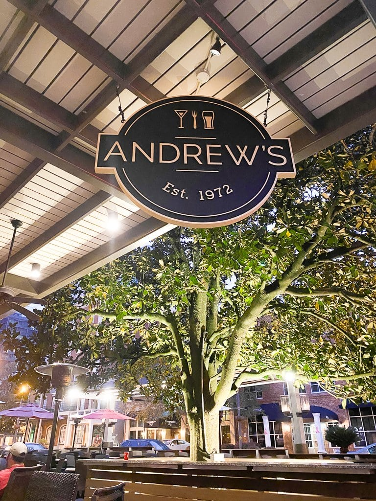 Andrew's Restaurant in Tallahassee