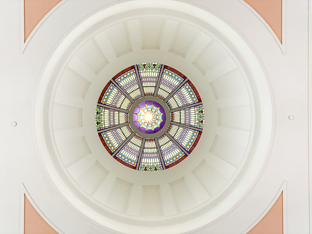 Florida's State Capital dome Roof