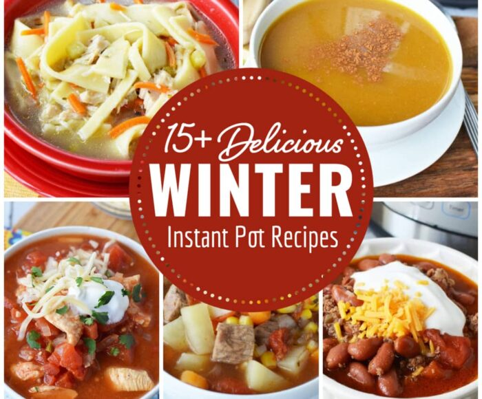 Winter Instant Pot Recipes