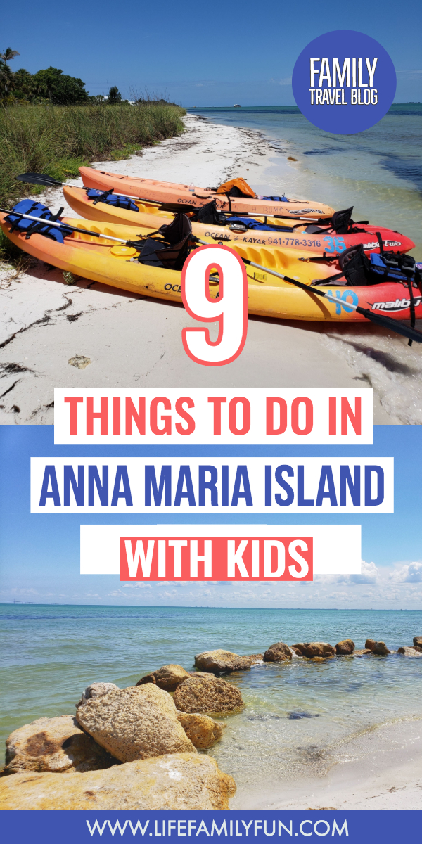 Things to do on Anna maria island with kids