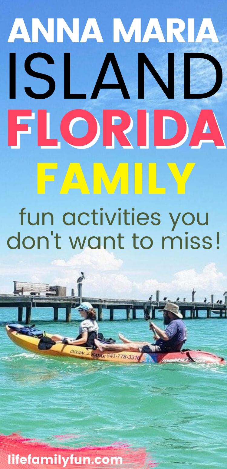 Anna Maria Island Family Fun Activities