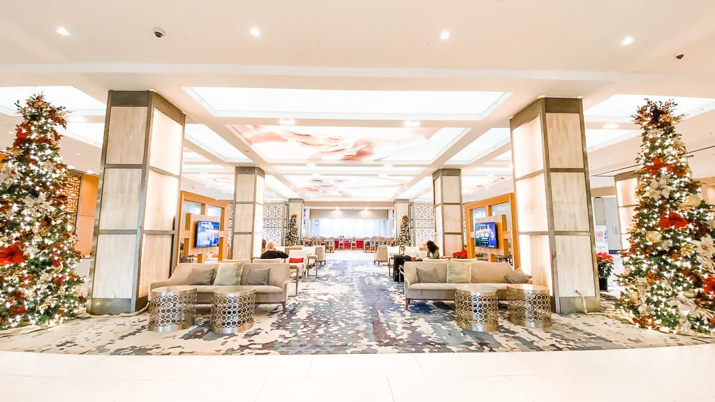 Lobby of Hilton Orlando Bonnet Creek