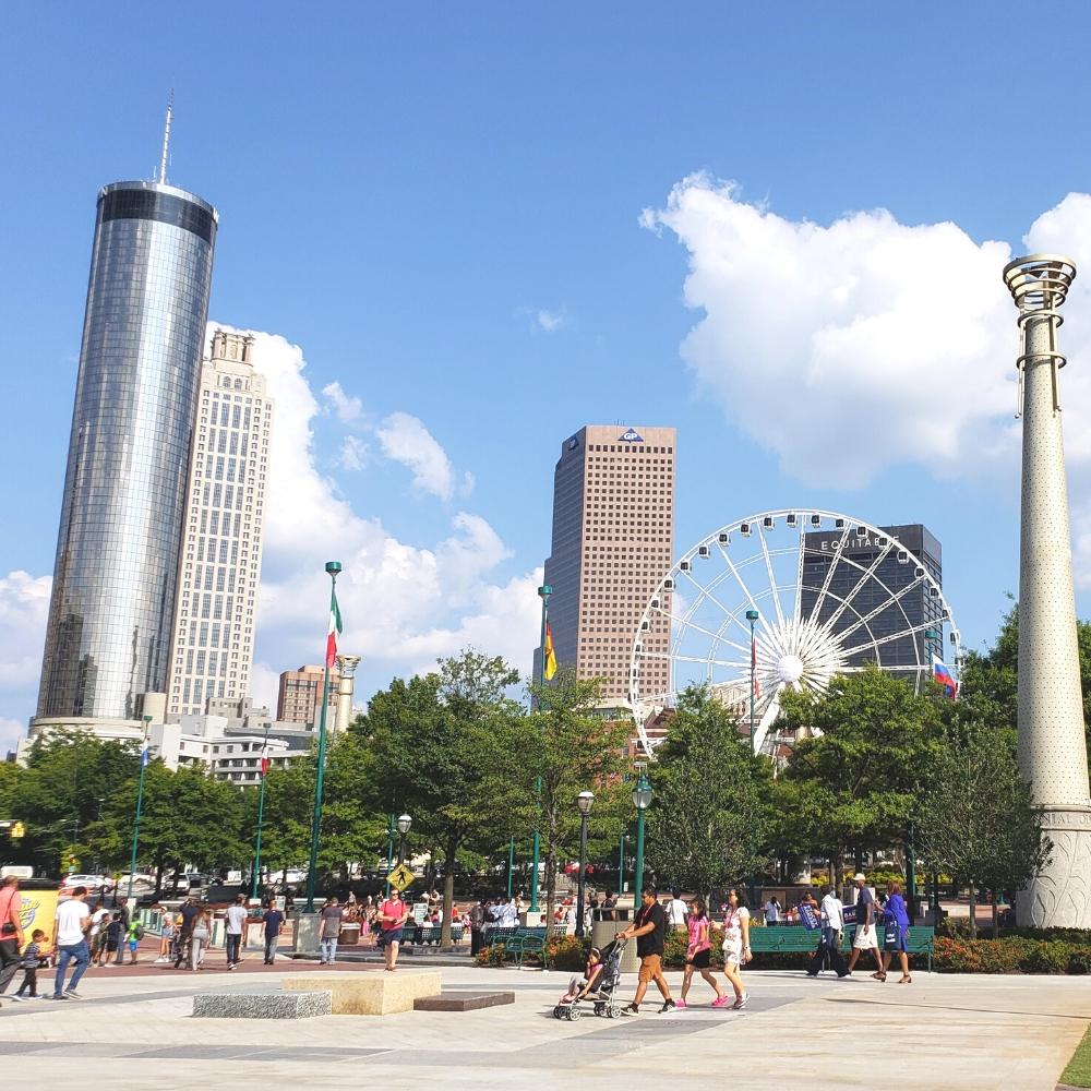 City of Downtown Atlanta