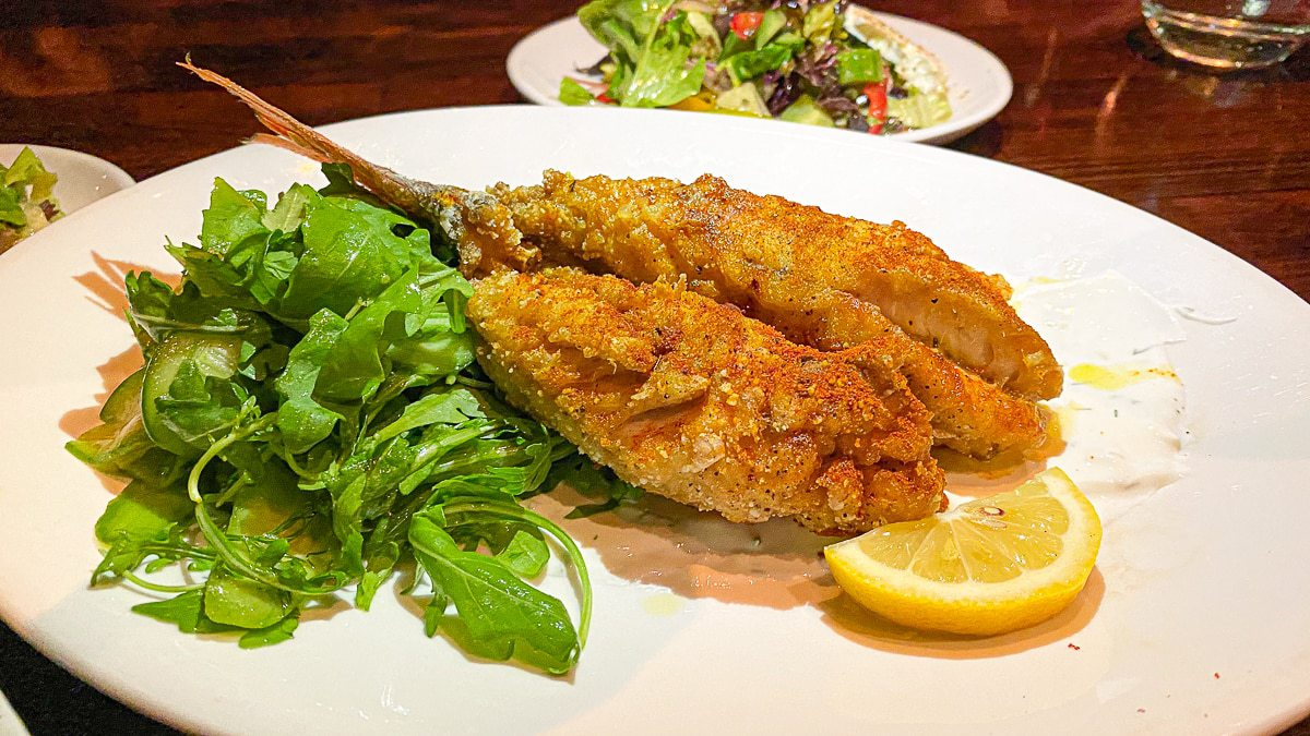 Whole Crispy Snapper, Under the Cork Tree Restaurant, Sandy Springs