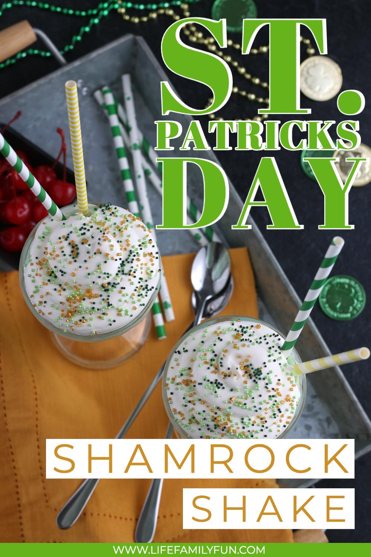 Shamrock Shakes for St. Patrick's Day